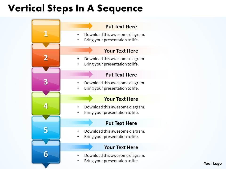 business powerpoint templates vertical create macro