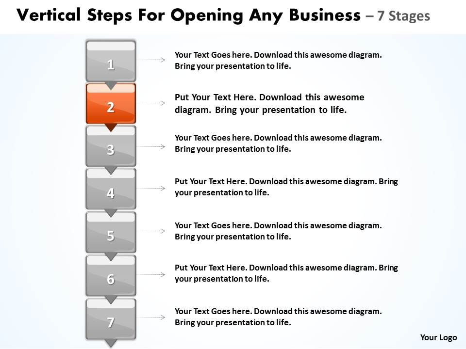 Business powerpoint templates vertical steps for opening any sales businesspowerpointtemplatesverticalstepsforopeninganysalespptslidesslide03 toneelgroepblik Image collections