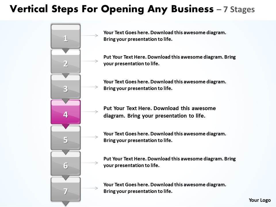 Business powerpoint templates vertical steps for opening any sales businesspowerpointtemplatesverticalstepsforopeninganysalespptslidesslide05 toneelgroepblik Image collections