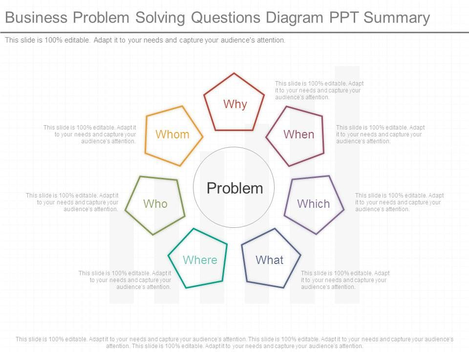 business_problem_solving_questions_diagram_ppt_summary_Slide01