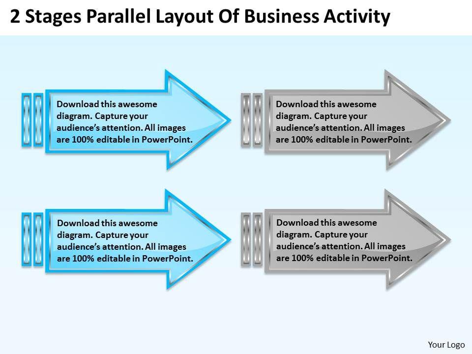 Business Process Diagram Symbols Activity Powerpoint