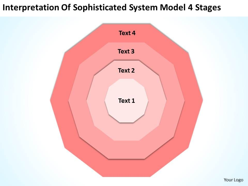 business_process_diagram_vision_of_sophisticated_system_model_4_stages_powerpoint_templates_Slide01