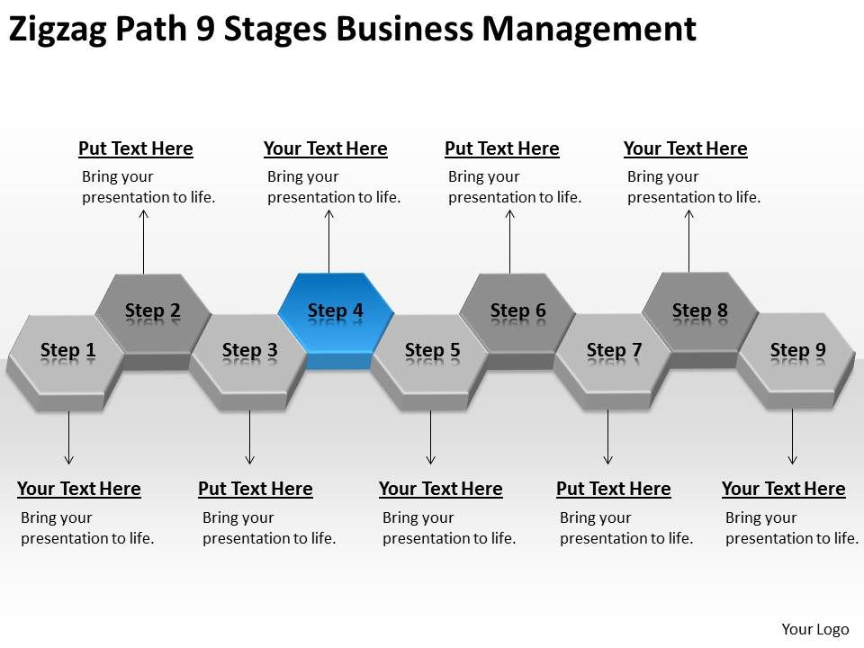 process flow template ppt