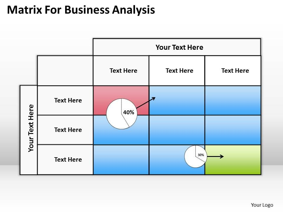 Business Analysis Template. Business Analysis Powerpoint Templates