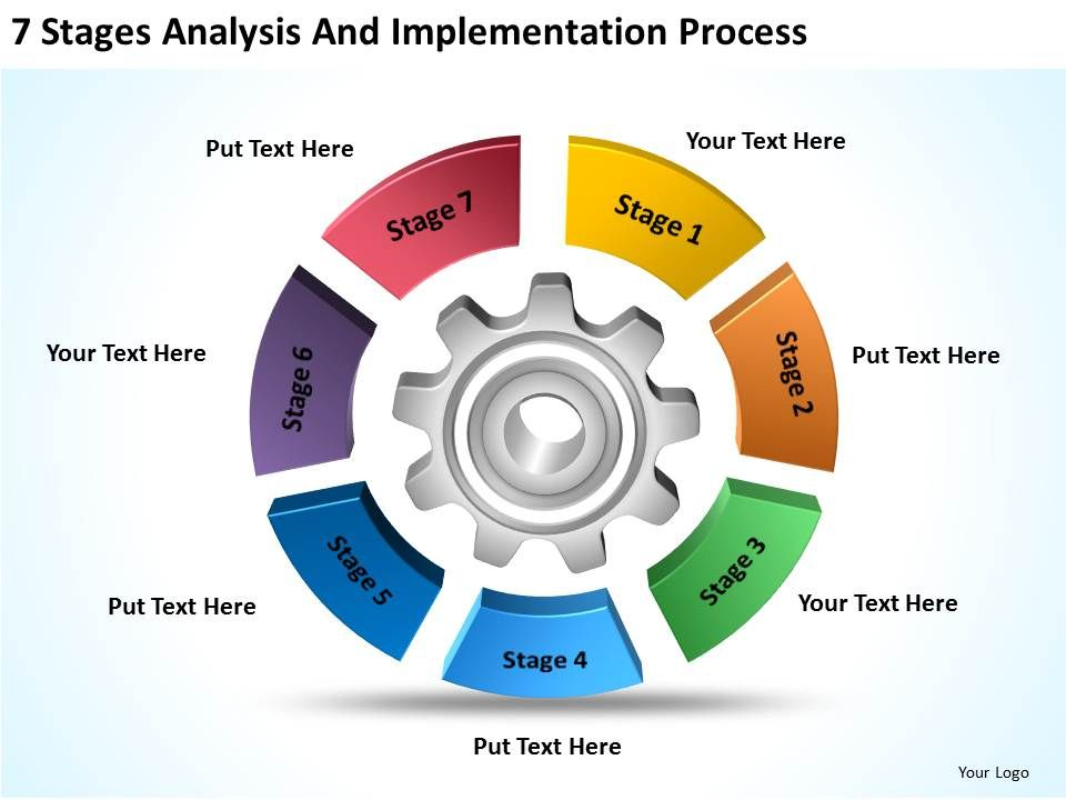 Business Process Flow Diagram Examples Analysis And Implementation Rh Slideteam Net PowerPoint Template