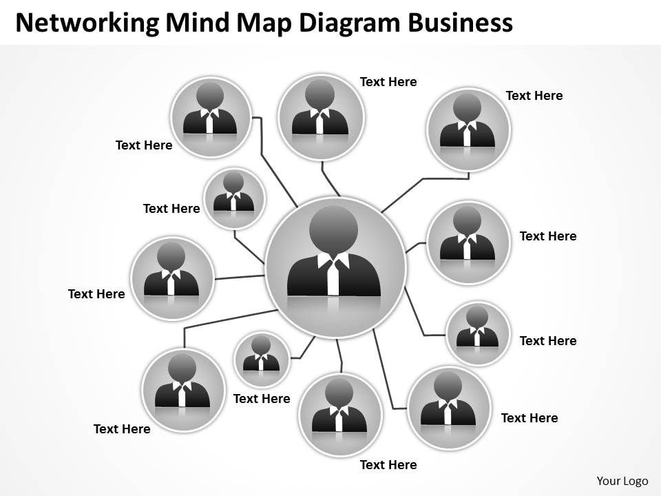 business_process_flowchart_networking_mind_map_diagram_powerpoint_slides_Slide01
