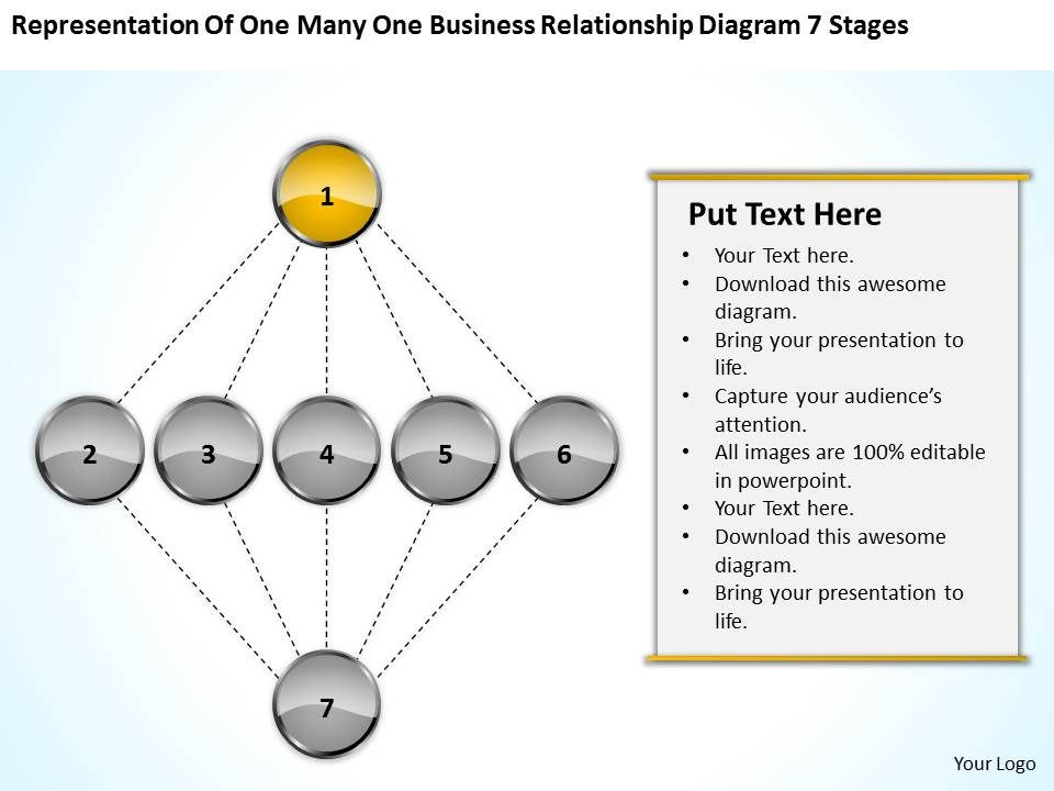 Business process flowchart one many relationship diagram 7 stages businessprocessflowchartonemanyrelationshipdiagram7stagespowerpointtemplatesslide02 toneelgroepblik Gallery