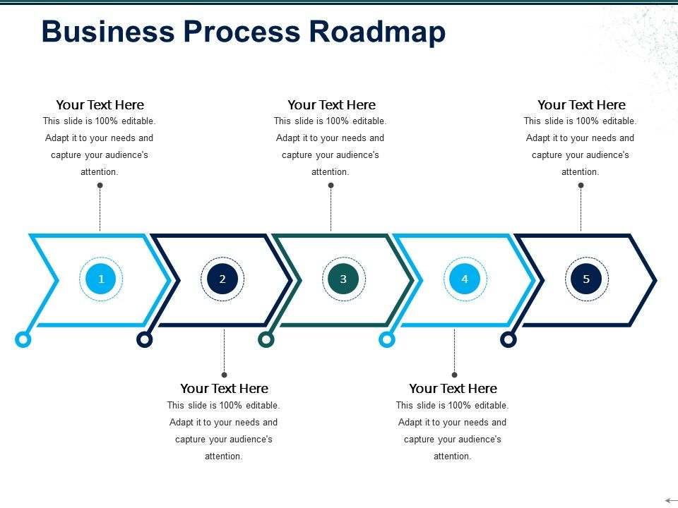 business process roadmap ppt sample file powerpoint presentation