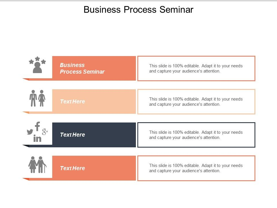 Business Process Seminar Ppt Powerpoint Presentation Styles