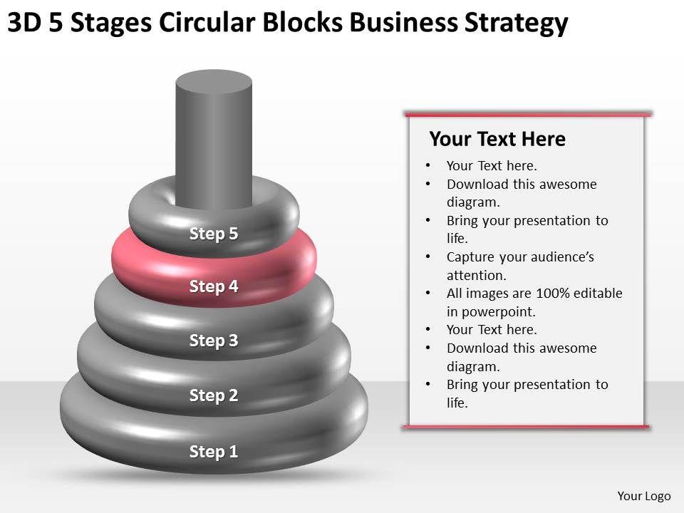 Business Process Workflow Diagram Examples Circular Blocks Strategy
