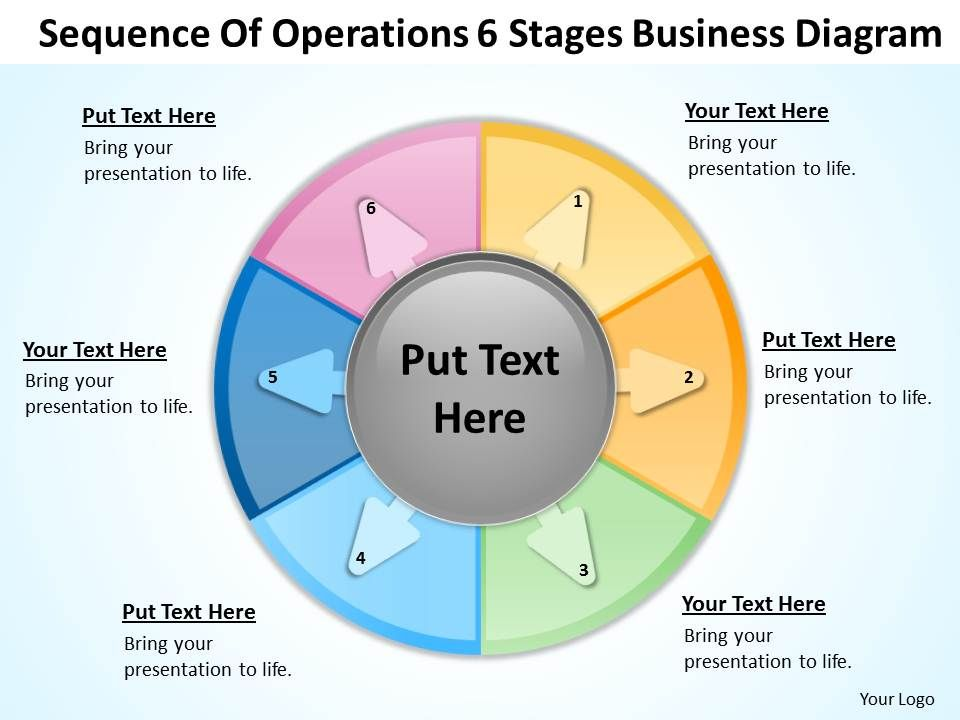 business_processes_sequence_of_operations_6_stages_diagram_powerpoint_templates_Slide01
