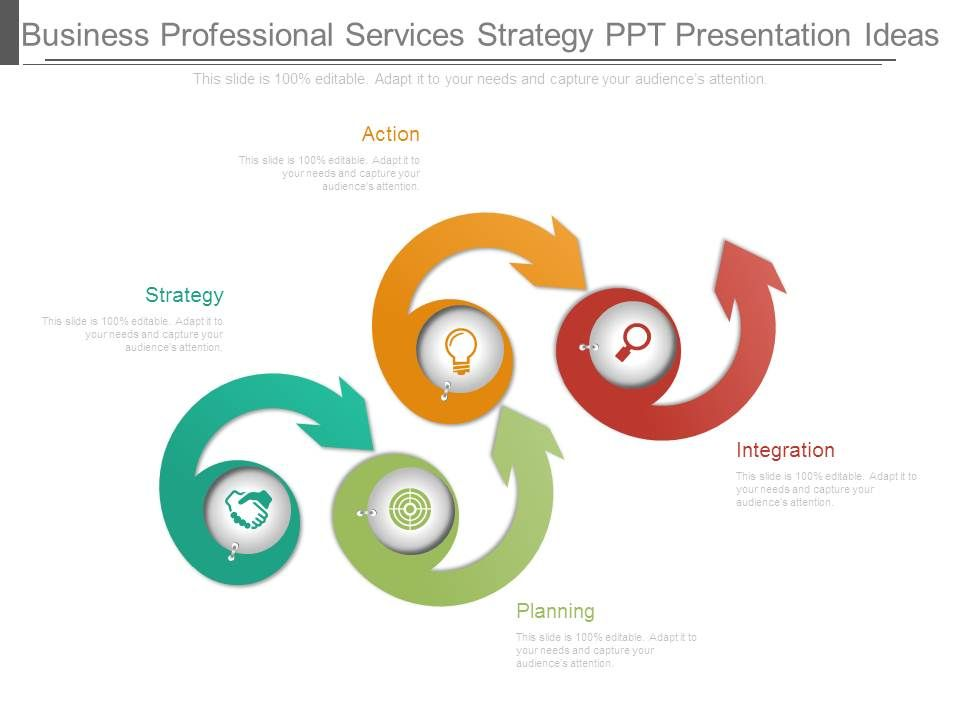 Business Professional Services Strategy Ppt Presentation