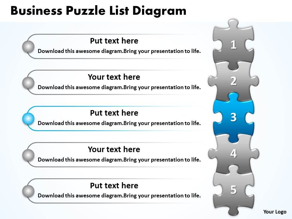 Business puzzle list diagarm powerpoint templates ppt presentation businesspuzzlelistdiagarmpowerpointtemplatespptpresentationslides0812slide04 ccuart Image collections