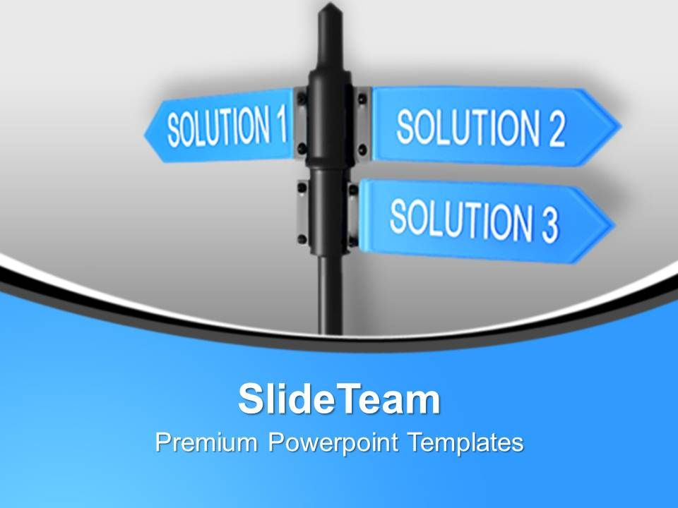 business_solution_signpost_powerpoint_templates_ppt_themes_and_graphics_0113_Slide01