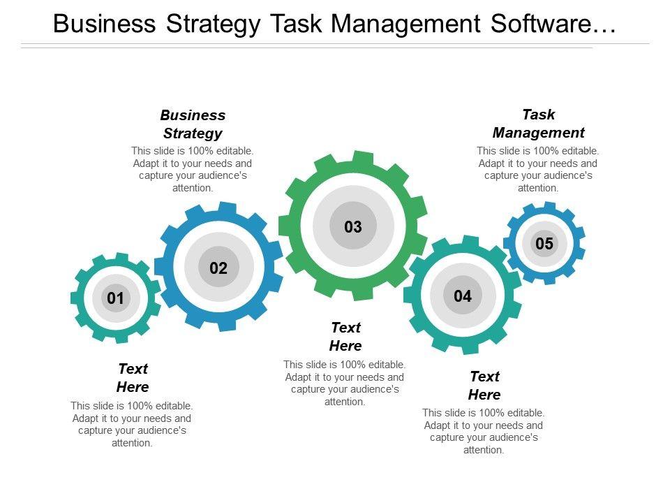 Business Strategy Task Management Software Management