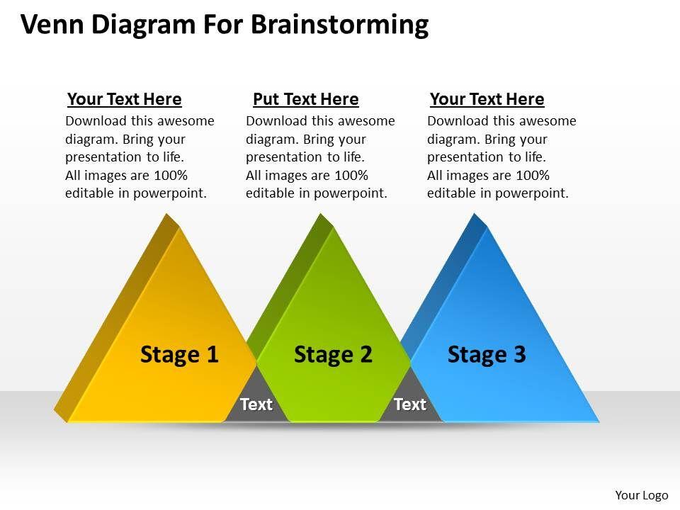 Business strategy venn diagram for brainstorming powerpoint businessstrategyvenndiagramforbrainstormingpowerpointtemplatespptbackgroundsslides3stages0530slide01 ccuart Choice Image