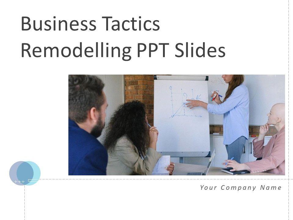Business Tactics Remodelling PPT Slides Complete Deck