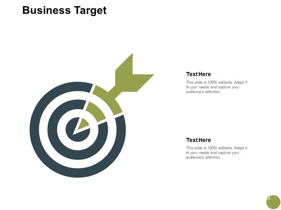 Business Target Arrow Planning A690 Ppt Powerpoint Presentation Slides Topics
