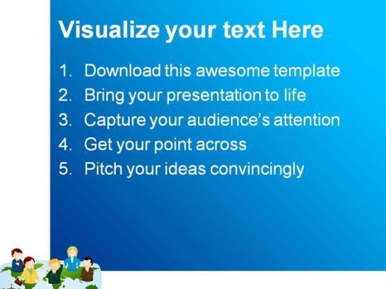 business team global powerpoint templates and powerpoint, Modern powerpoint