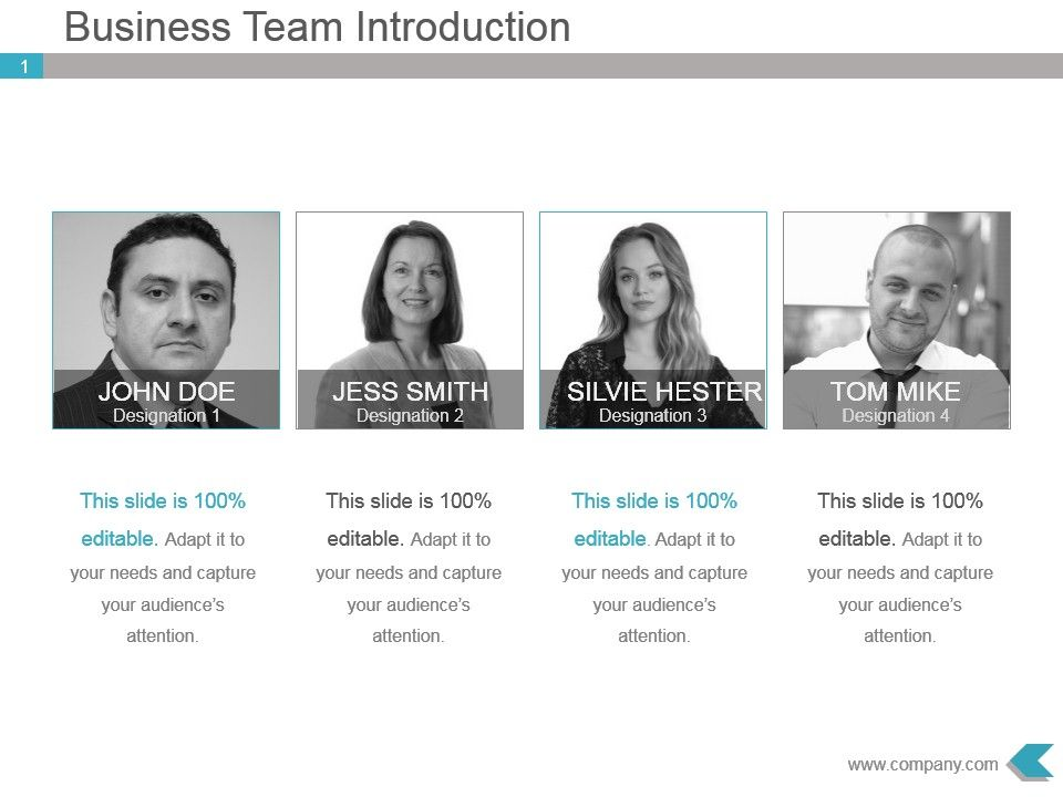 Business team introduction ppt template design presentation businessteamintroductionppttemplatedesignslide01 businessteamintroductionppttemplatedesignslide02 ccuart Choice Image