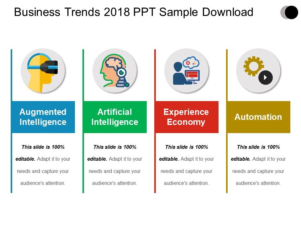 business trends 2018 ppt sample download powerpoint slide