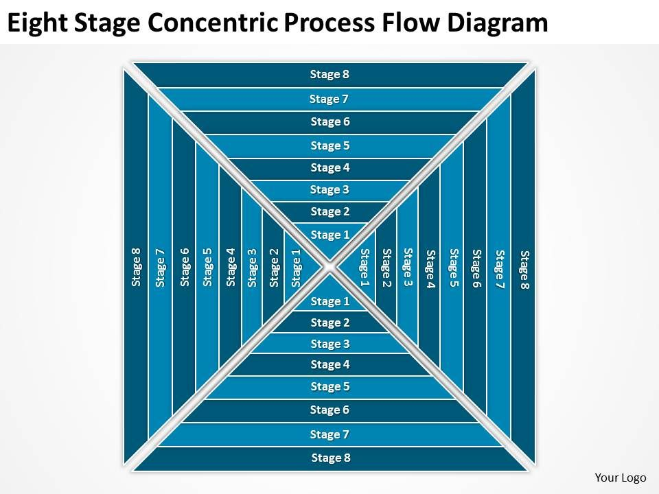business_use_case_diagram_example_eight_stage_concentric_process_flow_powerpoint_templates_Slide01