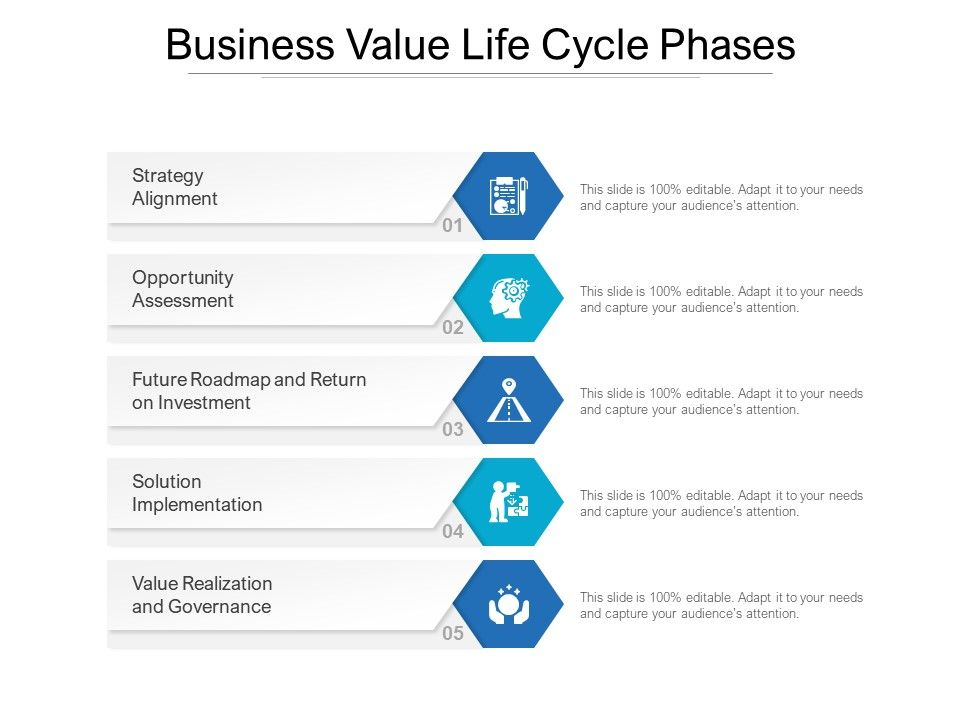 Business Value Life Cycle Phases