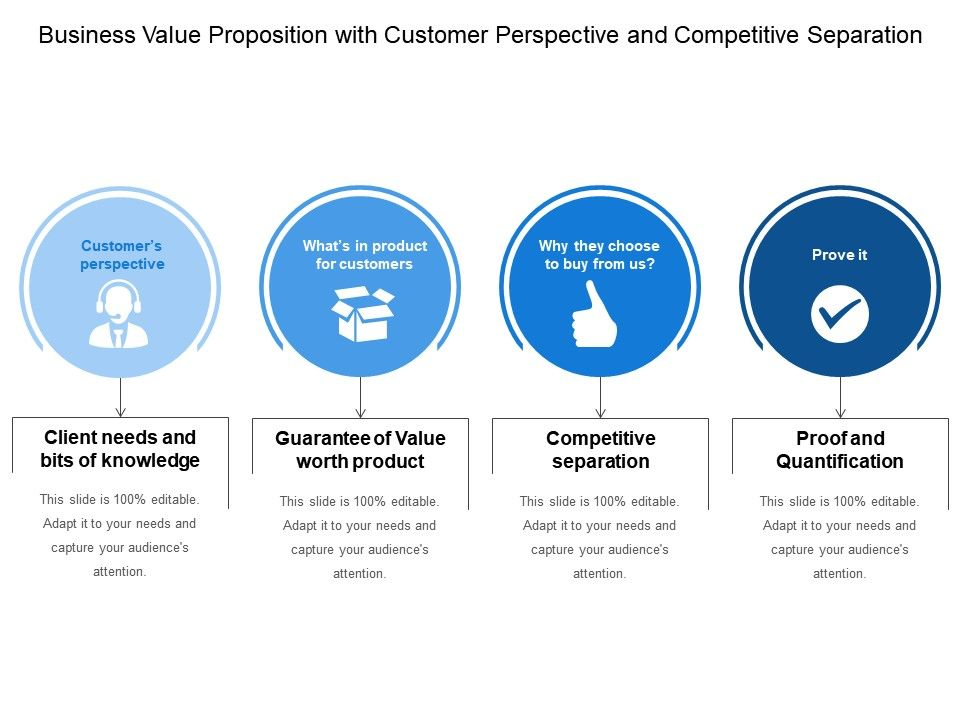 Business value proposition with customer perspective and competitive businessvaluepropositionwithcustomerperspectiveandcompetitiveseparationslide01 flashek Choice Image
