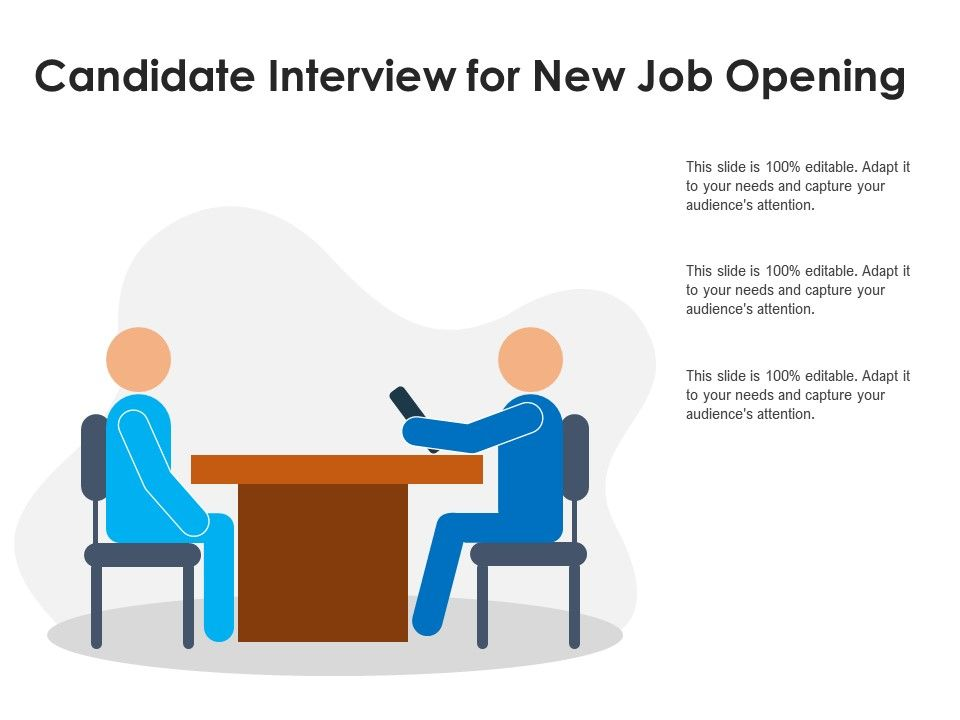 Candidate Interview For New Job Opening