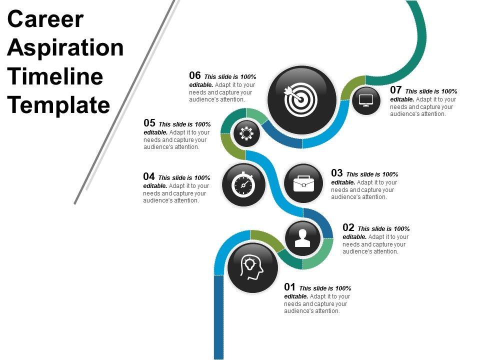 career_aspiration_timeline_template_powerpoint_shapes_Slide01