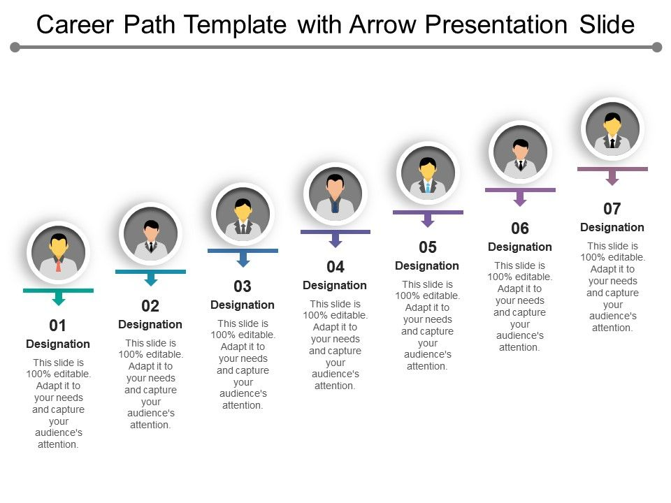 career_path_template_with_arrow_presentation_slide_Slide01