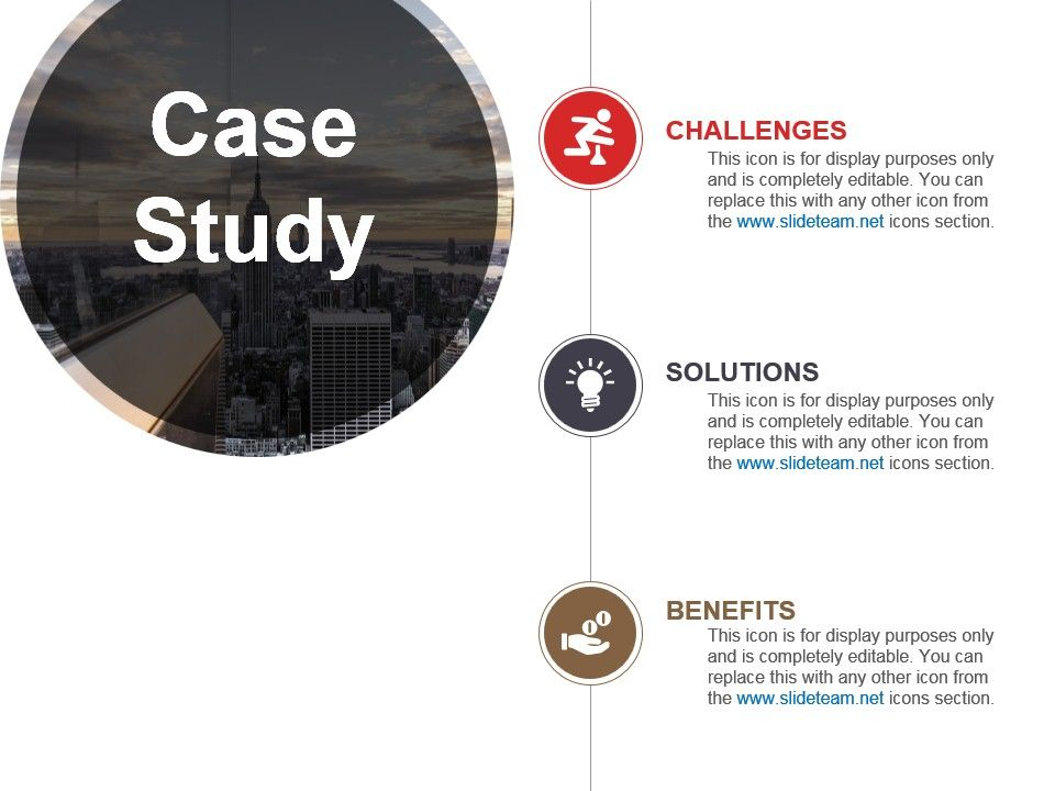 Case Study For Business Problem Solving Powerpoint Template
