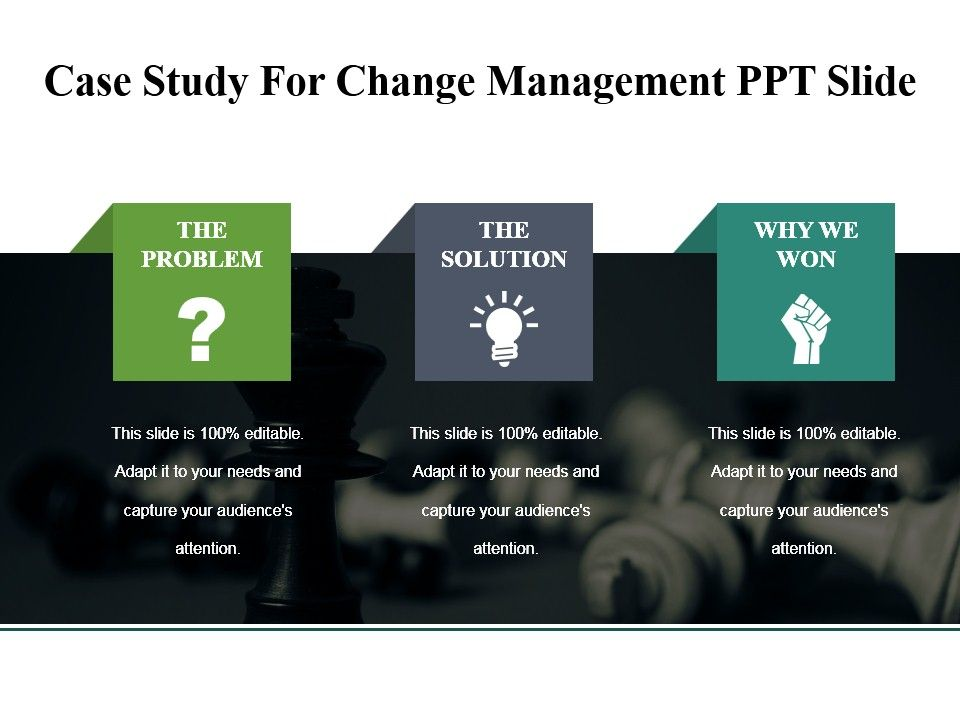 change management case study with solution