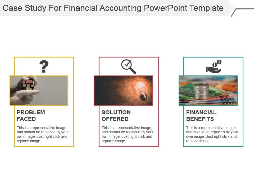 case study for financial accounting powerpoint template ppt images