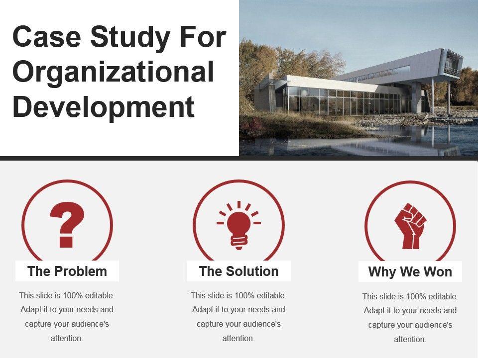 An analysis of organizational development department