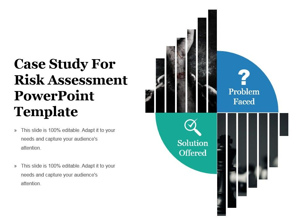 case study for risk assessment presenting case study for risk assessment powerpoint template