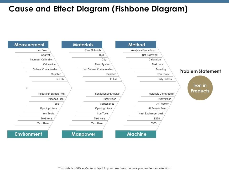 Cause And Effect Diagram Fishbone Diagram Ppt Summary Infographic Template Powerpoint Presentation Templates Ppt Template Themes Powerpoint Presentation Portfolio