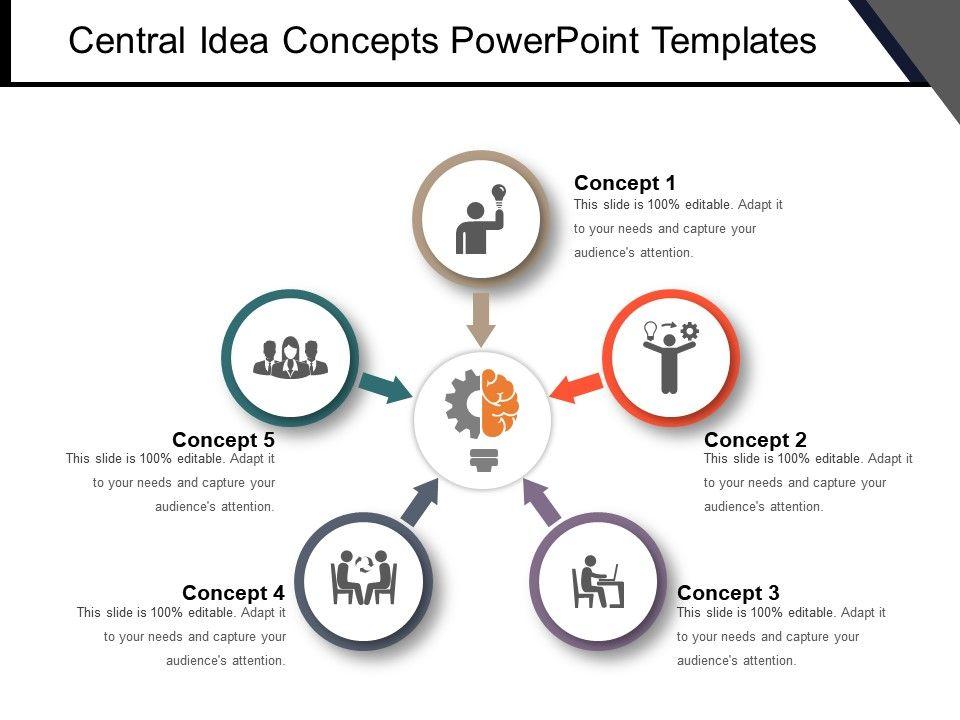 central_idea_concepts_powerpoint_templates_Slide01