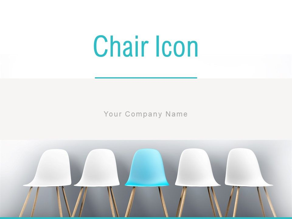 Chair Icon Business Marketing Management Strategy Planning