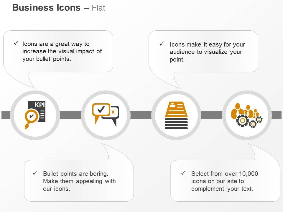 checklist of kpi business communication training document ppt icons