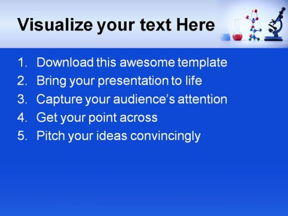 scientific presentation powerpoint templates