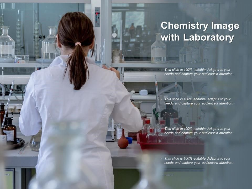 Chemistry Image With Laboratory