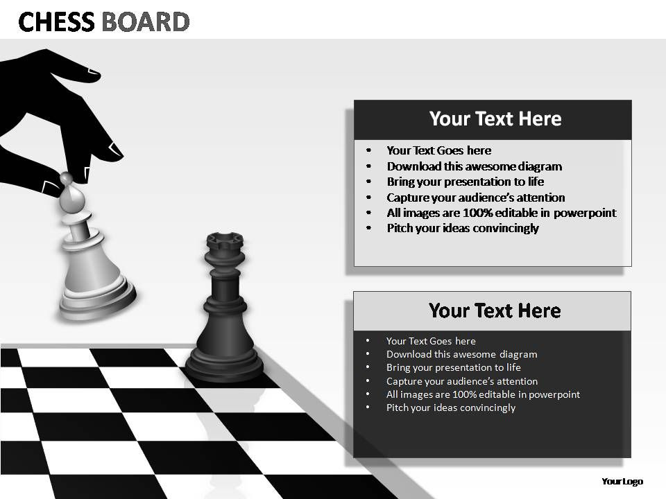 Chess Board Powerpoint Presentation Slides | PowerPoint Templates ...