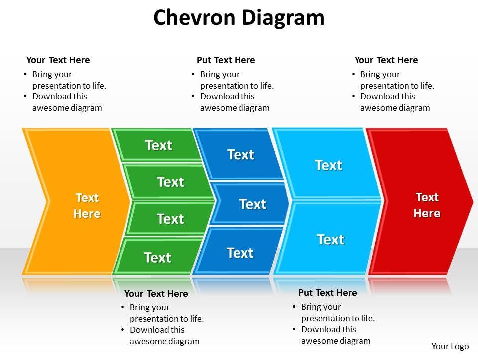 Skillfully Designed Business Slides Showing Chevron