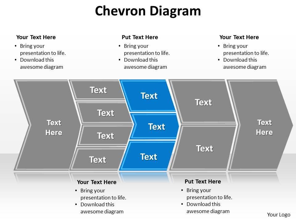 chevron diagram editable powerpoint 1 powerpoint slides