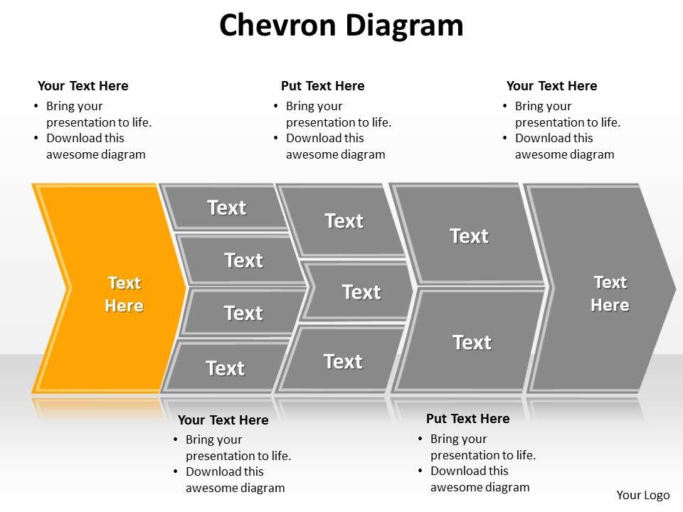 chevron diagram editable powerpoint templates infographics images, Modern powerpoint