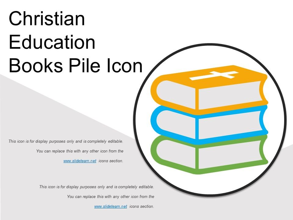 Christian education books pile icon powerpoint presentation christianeducationbookspileiconslide01 christianeducationbookspileiconslide02 christianeducationbookspileiconslide03 toneelgroepblik Choice Image