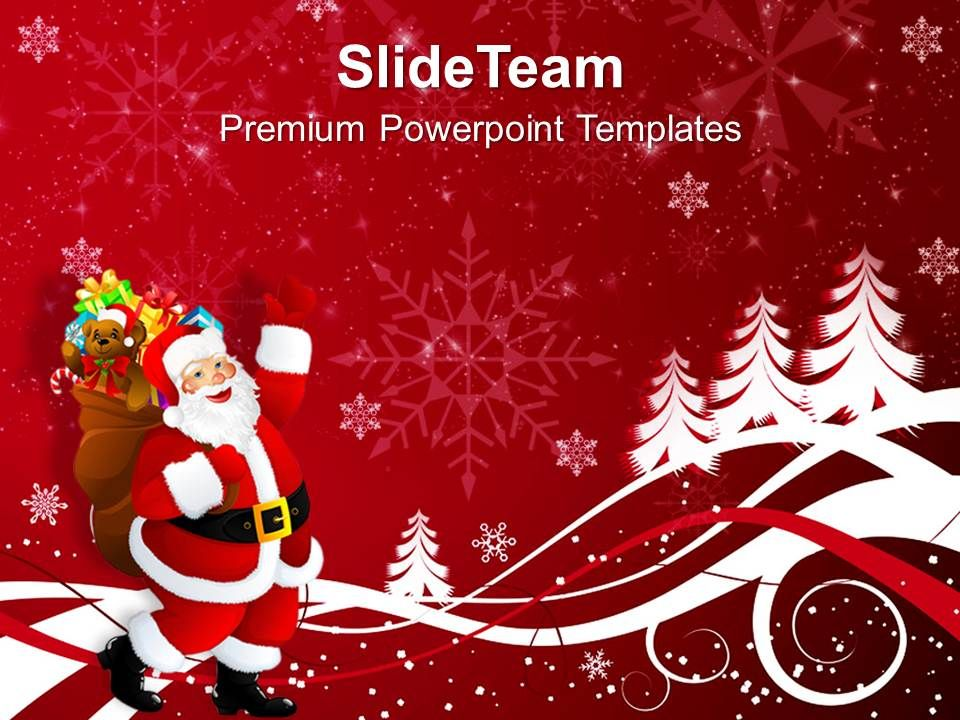 christmas_clipart_happy_santa_claus_on_background_powerpoint_templates_ppt_for_slides_slide01