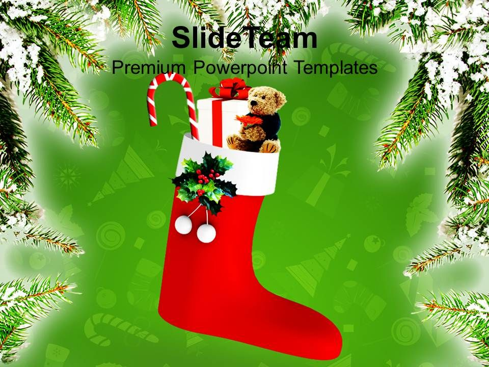 Christmas Gifts Party Merry Celebration Festival Powerpoint ...
