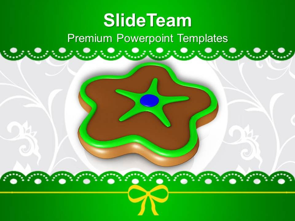 christmas_ornament_chocolate_cookies_powerpoint_templates_ppt_backgrounds_for_slides_Slide01